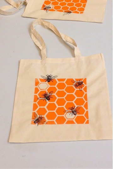 Earth Day | Screen Print a Tote Bag