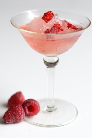Raspberry Gin Slush