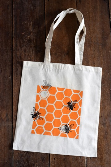 Screen Print a Summer Tote Bag