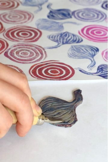 Block Printing with Lino