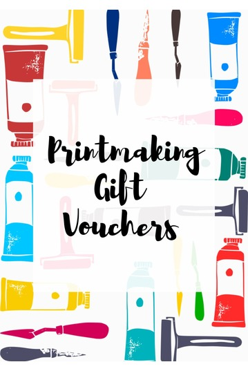 Printmaking Gift Vouchers