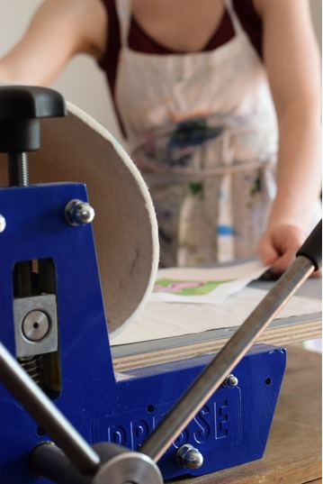 Printmaking, Developing your Style Long Course