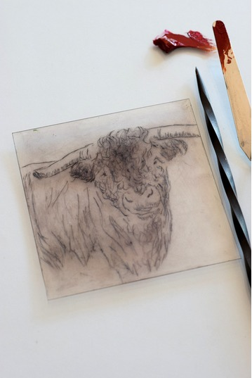 Beginner Drypoint Etching Two Day Course