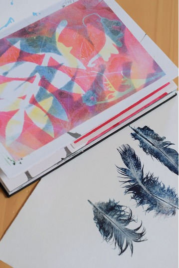 Monotypes and Monoprints | Summer Retreat